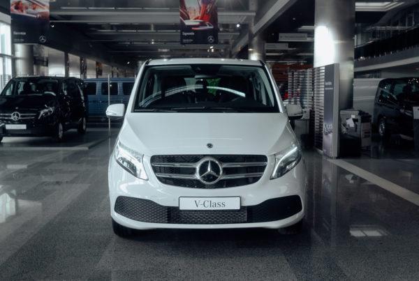 Mercedes-Benz V-Class V 200 d довгий